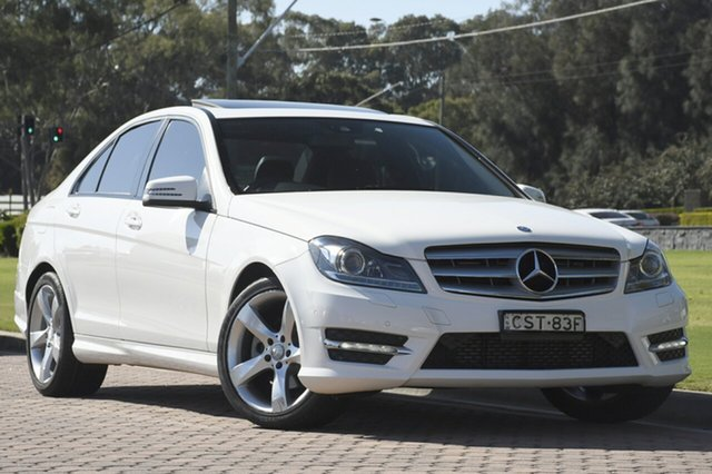 Discounted Used Mercedes-Benz C200 7G-Tronic +, Warwick Farm, 2013 Mercedes-Benz C200 7G-Tronic + Sedan
