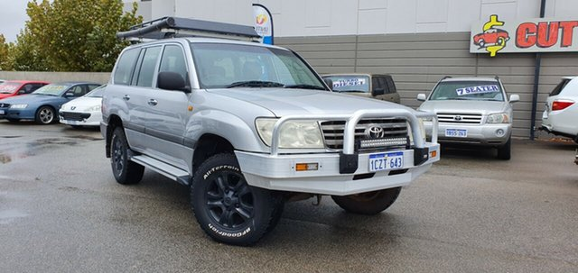 Discounted Used Toyota Landcruiser GXL (4x4), Victoria Park, 2006 Toyota Landcruiser GXL (4x4) Wagon