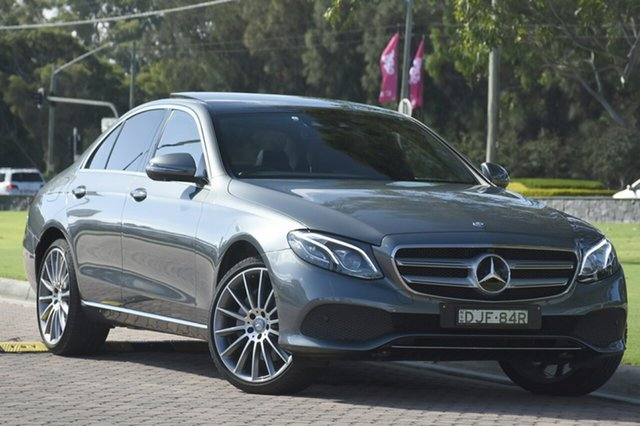 Discounted Used Mercedes-Benz E350 d 9G-Tronic PLUS, Narellan, 2016 Mercedes-Benz E350 d 9G-Tronic PLUS Sedan