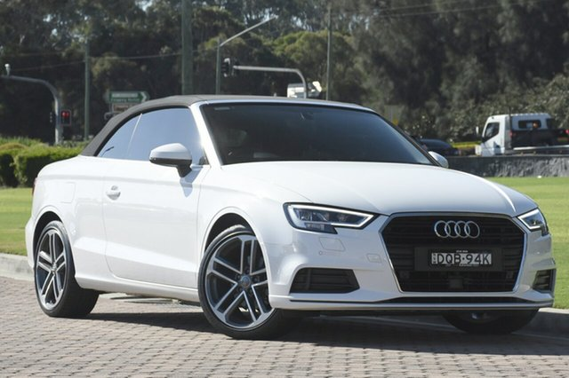 Discounted Used Audi A3 S Tronic, Warwick Farm, 2017 Audi A3 S Tronic Cabriolet