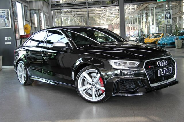 Used Audi RS 3 S Tronic Quattro, North Melbourne, 2017 Audi RS 3 S Tronic Quattro Sedan