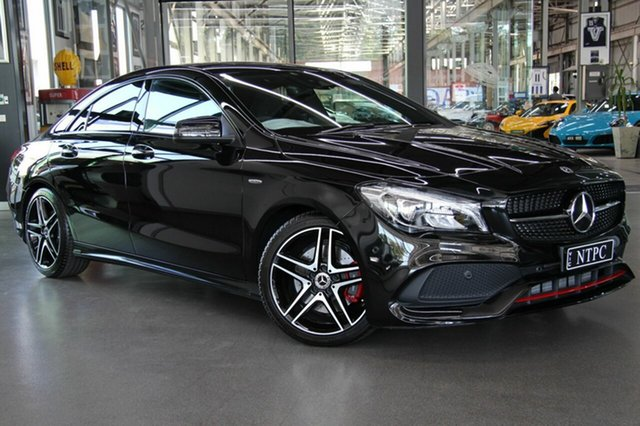 Used Mercedes-Benz CLA250 Sport DCT 4MATIC, North Melbourne, 2017 Mercedes-Benz CLA250 Sport DCT 4MATIC Coupe