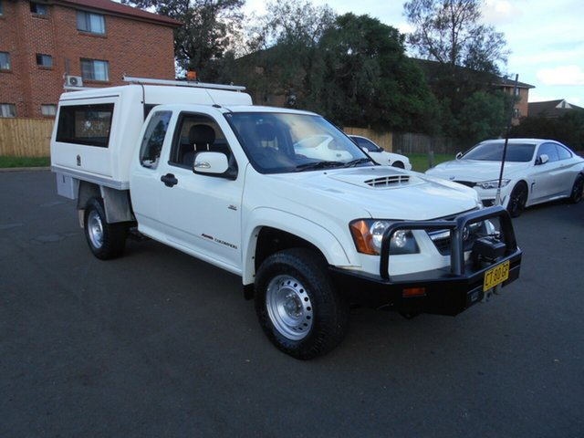 Used Holden Colorado LX (4x4), Bankstown, 2009 Holden Colorado LX (4x4) Service Body