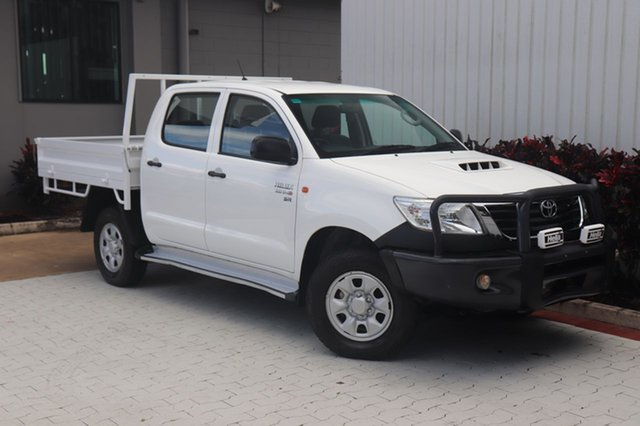 Used Toyota Hilux SR Double Cab, Cairns, 2012 Toyota Hilux SR Double Cab Cab Chassis