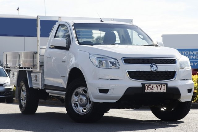 Used Holden Colorado LX 4x2, Bowen Hills, 2014 Holden Colorado LX 4x2 Cab Chassis