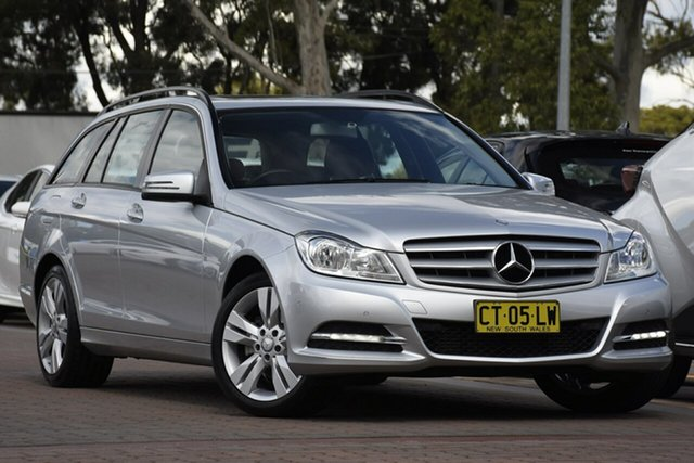 Used Mercedes-Benz C200 BlueEFFICIENCY Estate 7G-Tronic +, Narellan, 2012 Mercedes-Benz C200 BlueEFFICIENCY Estate 7G-Tronic + Wagon