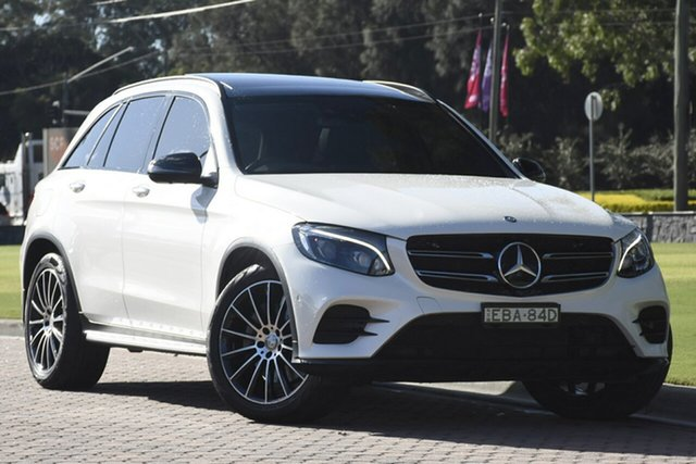 Discounted Used Mercedes-Benz GLC250 d 9G-Tronic 4MATIC, Narellan, 2015 Mercedes-Benz GLC250 d 9G-Tronic 4MATIC SUV