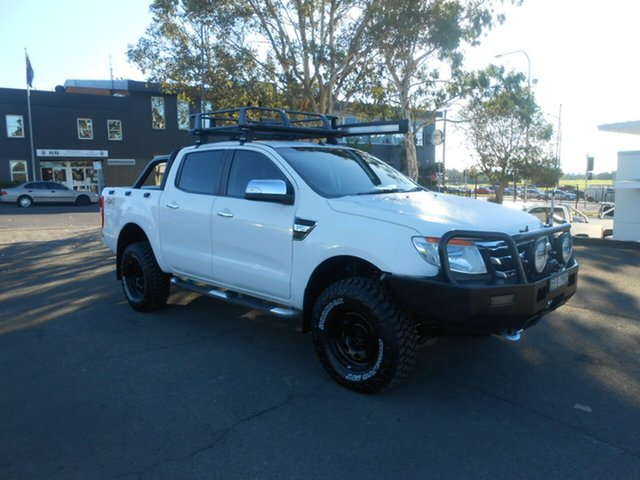 Used Ford Ranger XLT Double Cab, Nowra, 2012 Ford Ranger XLT Double Cab Utility