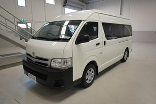 2013 Toyota HiAce Commuter High Roof Super LWB Bus.
