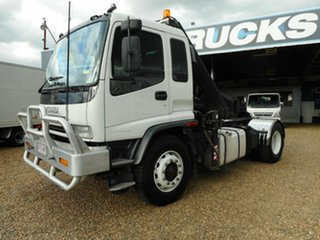 2002 Isuzu GVD Crane Truck.