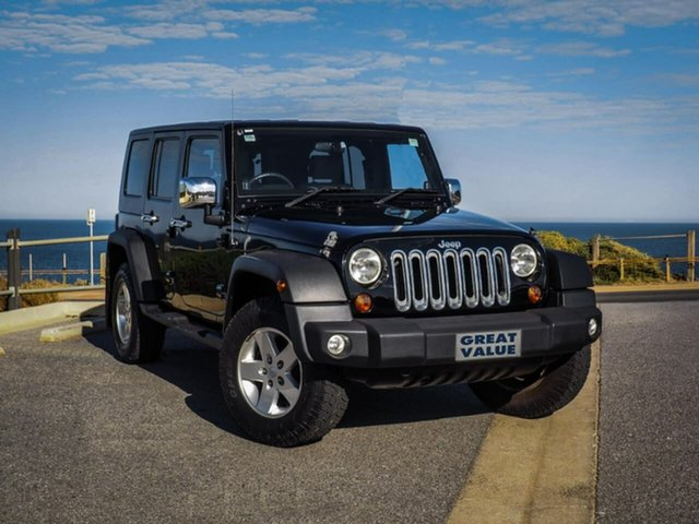 Used Jeep Wrangler Unlimited Sport, Christies Beach, 2010 Jeep Wrangler Unlimited Sport Softtop