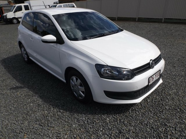 Discounted Used Volkswagen Polo Trendline, Toowoomba, 2010 Volkswagen Polo Trendline Hatchback