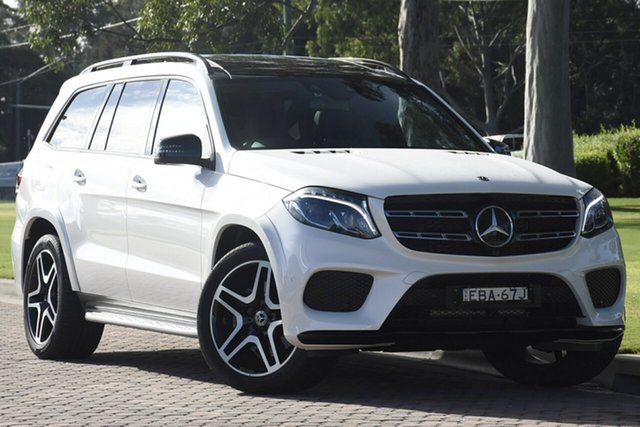 Discounted Used Mercedes-Benz GLS350 d 9G-Tronic 4MATIC Sport, Narellan, 2018 Mercedes-Benz GLS350 d 9G-Tronic 4MATIC Sport SUV