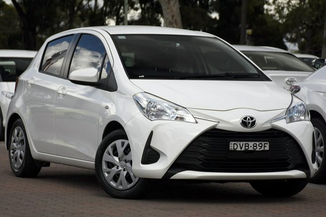 Used Toyota Yaris Ascent, Narellan, 2018 Toyota Yaris Ascent Hatchback