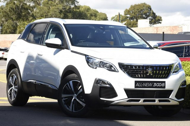 Discounted New Peugeot 3008 Allure SUV, Narellan, 2018 Peugeot 3008 Allure SUV SUV