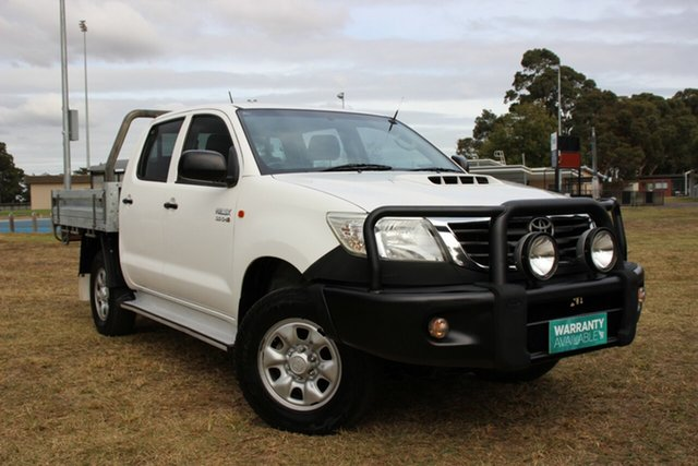 Used Toyota Hilux SR Double Cab, Officer, 2013 Toyota Hilux SR Double Cab Cab Chassis