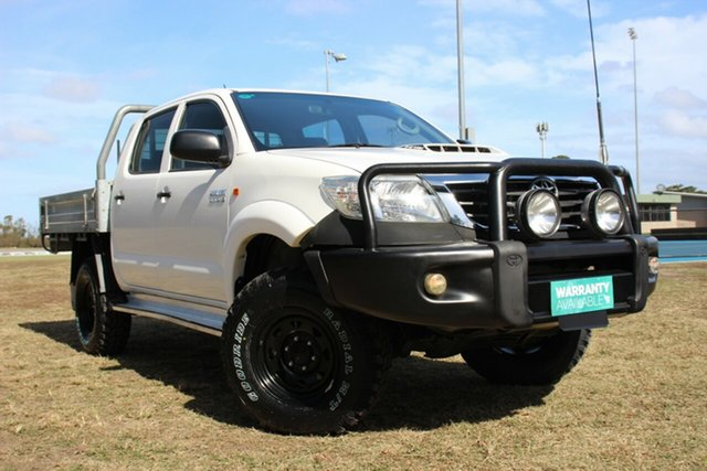 Used Toyota Hilux SR Double Cab, Officer, 2013 Toyota Hilux SR Double Cab Utility