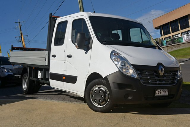 Discounted Demonstrator, Demo, Near New Renault Master Double Cab LWB RWD, Narellan, 2018 Renault Master Double Cab LWB RWD Cab Chassis