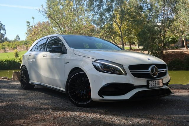 Used Mercedes-Benz A45 AMG SPEEDSHIFT DCT 4MATIC, Christies Beach, 2017 Mercedes-Benz A45 AMG SPEEDSHIFT DCT 4MATIC Hatchback