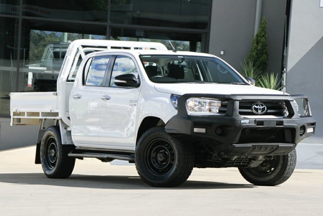 Used Toyota Hilux SR Double Cab, Indooroopilly, 2016 Toyota Hilux SR Double Cab Utility