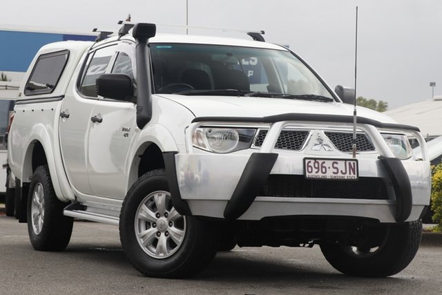 Used Mitsubishi Triton GL-R Double Cab, Bowen Hills, 2012 Mitsubishi Triton GL-R Double Cab Utility