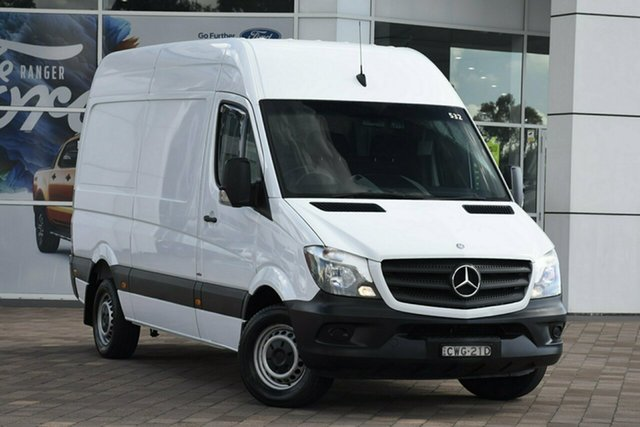 Used Mercedes-Benz Sprinter 313CDI Low Roof MWB 7G-Tronic, Warwick Farm, 2015 Mercedes-Benz Sprinter 313CDI Low Roof MWB 7G-Tronic Van
