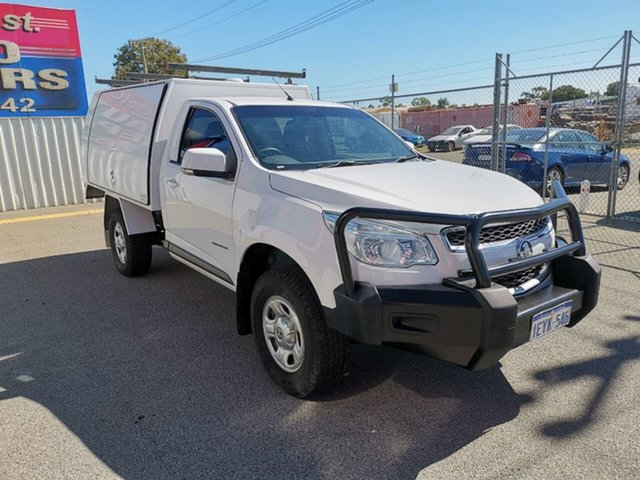 Used Holden Colorado LS 4x2, Kenwick, 2015 Holden Colorado LS 4x2 Cab Chassis
