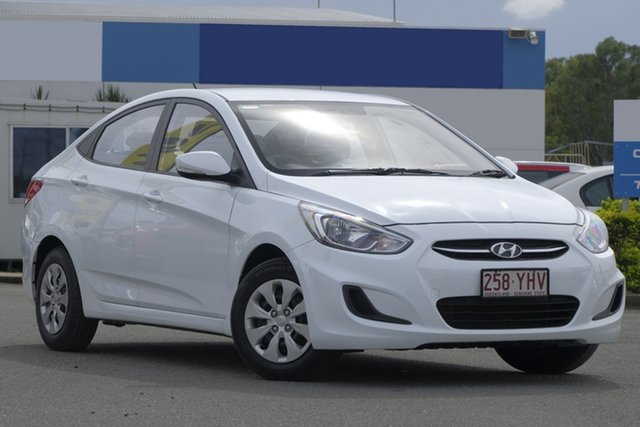 Used Hyundai Accent Active, Bowen Hills, 2016 Hyundai Accent Active Sedan