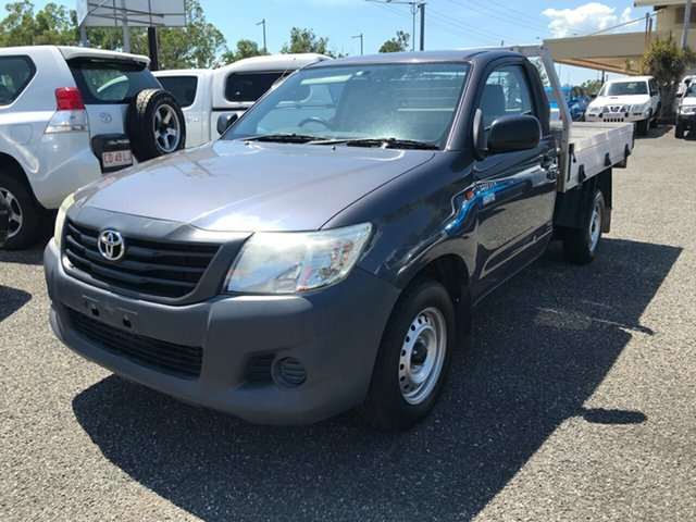 Used Toyota Hilux Workmate 4x2, Winnellie, 2012 Toyota Hilux Workmate 4x2 Cab Chassis