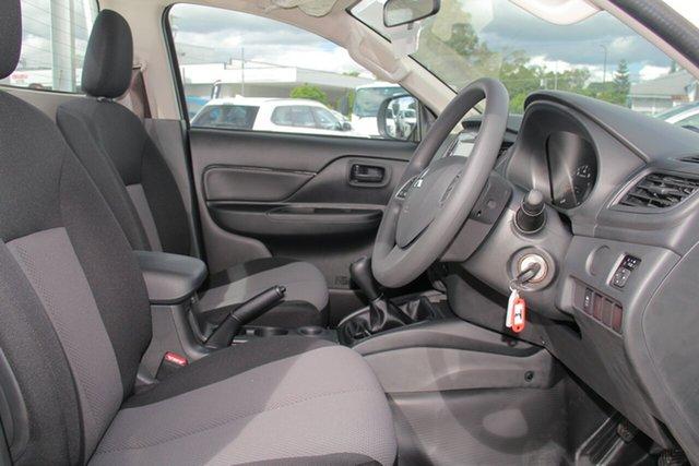Demonstrator, Demo, Near New Mitsubishi Triton GLX, Toowong, 2019 Mitsubishi Triton GLX MR MY19 Cab Chassis