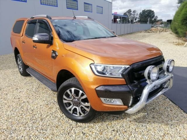Used Ford Ranger Wildtrak 3.2 (4x4), Wangaratta, 2017 Ford Ranger Wildtrak 3.2 (4x4) Dual Cab Pick-up