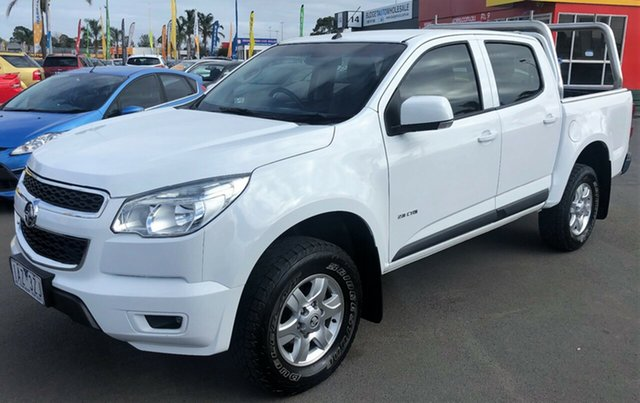 Used Holden Colorado LT with