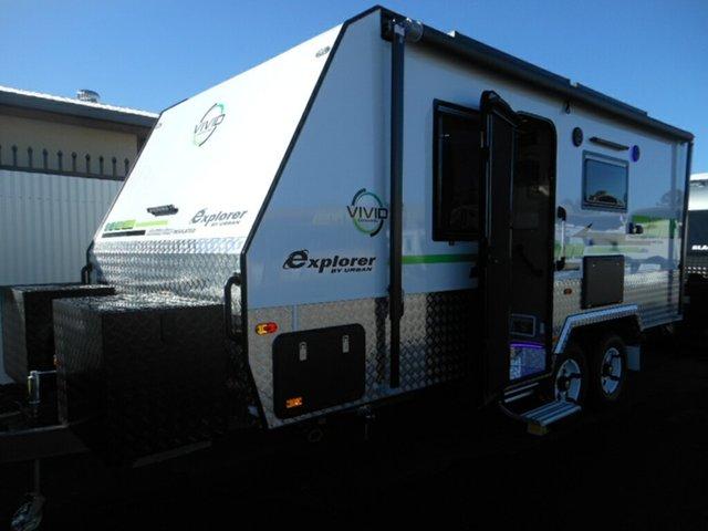 New Vivid Caravans Explorer. 18'6