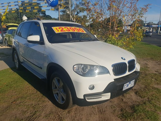 Used BMW X5 xDrive30d Steptronic Executive, Cranbourne, 2008 BMW X5 xDrive30d Steptronic Executive Wagon