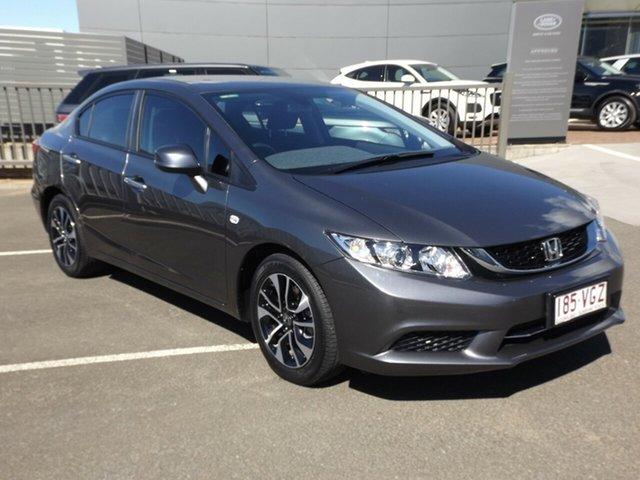 Used Honda Civic VTi-S, Toowoomba, 2014 Honda Civic VTi-S Sedan