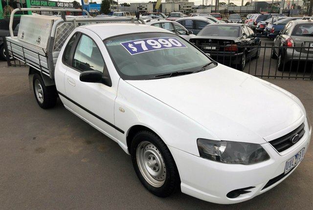 Used Ford Falcon XL Super Cab with RWC & REG, Cheltenham, 2007 Ford Falcon XL Super Cab with RWC & REG Cab Chassis