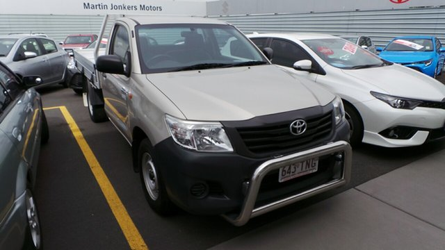 Used Toyota Hilux Workmate 4x2, Morayfield, 2013 Toyota Hilux Workmate 4x2 Cab Chassis