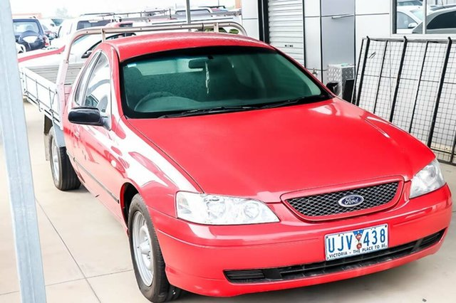 Discounted Used Ford Falcon XLS Super Cab, Pakenham, 2003 Ford Falcon XLS Super Cab Cab Chassis