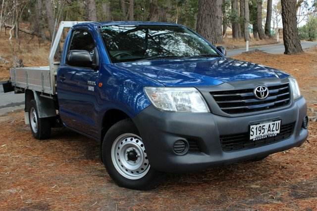 Used Toyota Hilux Workmate 4x2, Cheltenham, 2012 Toyota Hilux Workmate 4x2 Cab Chassis