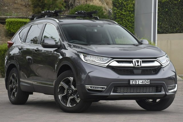 Demonstrator, Demo, Near New Honda CR-V VTi-LX 4WD, Warwick Farm, 2019 Honda CR-V VTi-LX 4WD SUV