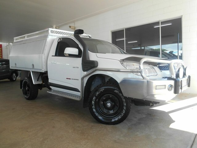 Used Holden Colorado LX, Mount Isa, 2014 Holden Colorado LX RG MY14 Cab Chassis