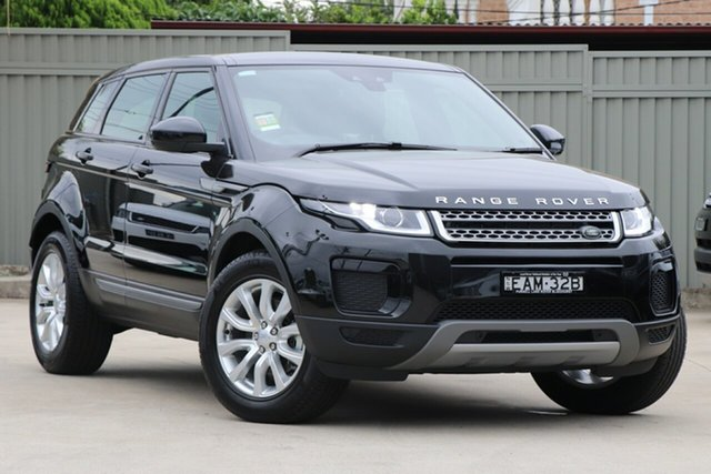 Demonstrator, Demo, Near New Land Rover Range Rover Evoque TD4 110kW SE, Blakehurst, 2018 Land Rover Range Rover Evoque TD4 110kW SE Wagon