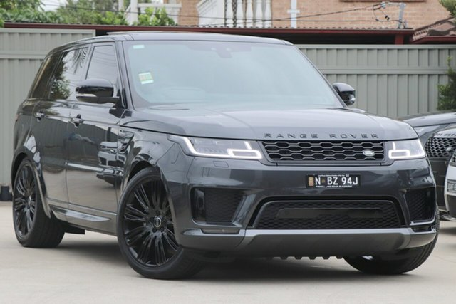 Demonstrator, Demo, Near New Land Rover Range Rover Sport SDV6 CommandShift HSE Dynamic, Blakehurst, 2018 Land Rover Range Rover Sport SDV6 CommandShift HSE Dynamic Wagon