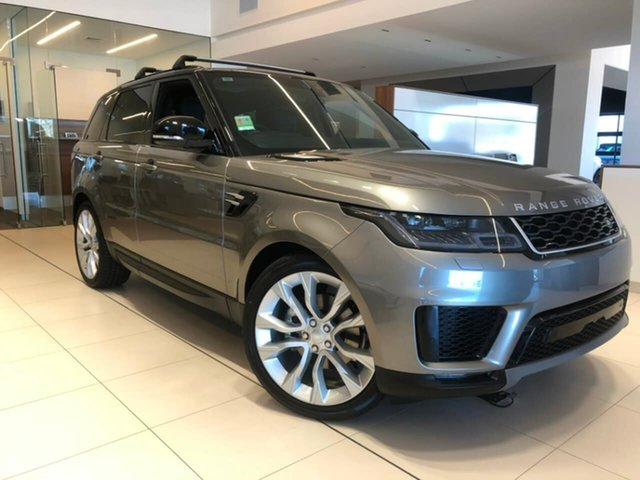 Demonstrator, Demo, Near New Land Rover Range Rover Sport SDV6 183kW CommandShift SE, Lavington, 2018 Land Rover Range Rover Sport SDV6 183kW CommandShift SE Wagon