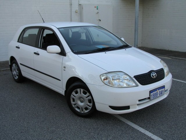 Used Toyota Corolla Ascent, Maddington, 2002 Toyota Corolla Ascent Hatchback