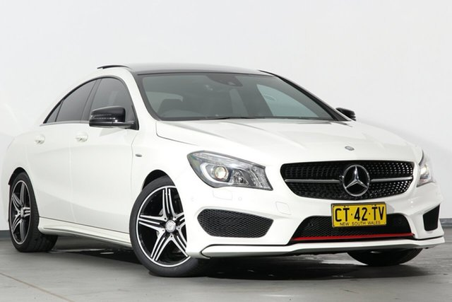 Used Mercedes-Benz CLA250 Sport DCT 4MATIC, Campbelltown, 2014 Mercedes-Benz CLA250 Sport DCT 4MATIC Coupe