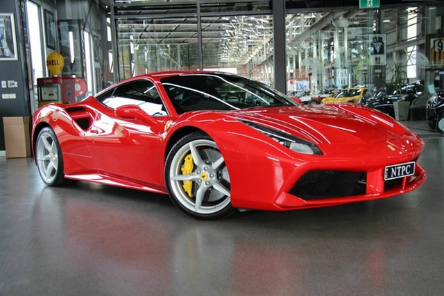 Used Ferrari 488 GTB DCT, North Melbourne, 2018 Ferrari 488 GTB DCT Coupe
