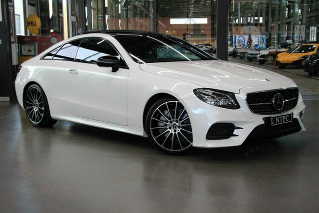 Used Mercedes-Benz E300 9G-Tronic PLUS, North Melbourne, 2017 Mercedes-Benz E300 9G-Tronic PLUS Coupe