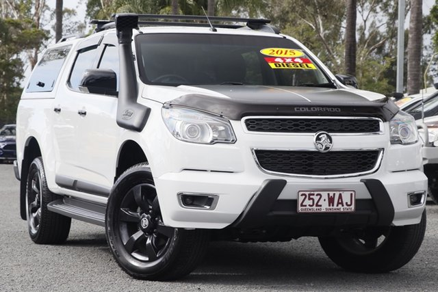 Used Holden Colorado Z71 Crew Cab, Beaudesert, 2015 Holden Colorado Z71 Crew Cab Utility