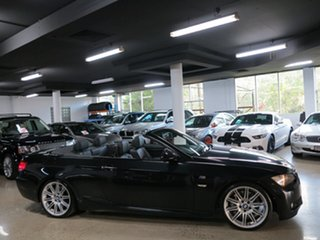 2009 BMW 335i D-CT Convertible.